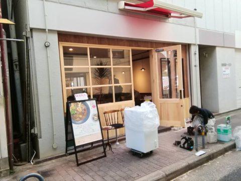 店舗外壁塗り替え